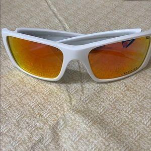 Oakley Men's  Fuel Cell Sunglasses White